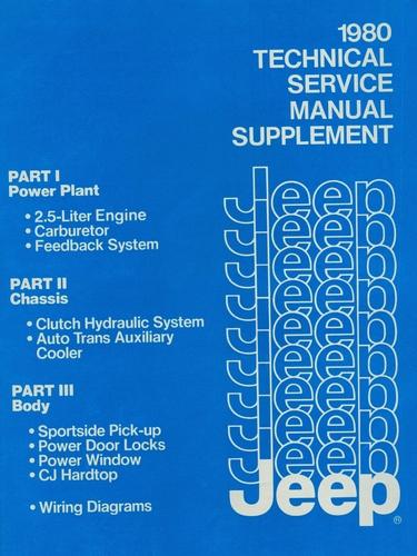 cj dj jeep service manuals original reproductions llc yuma j 801001s1 1980 <font