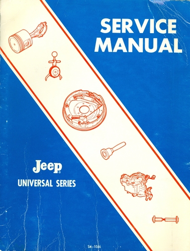 jeep cj factory service manual